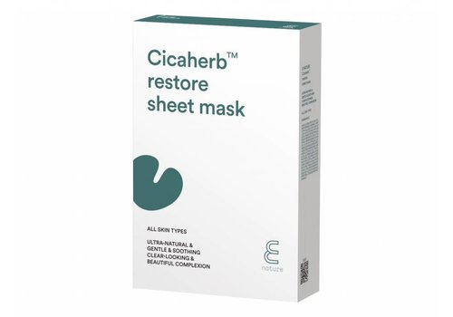 Enature Cicaherb Restore Sheet Mask Pack (10ea)