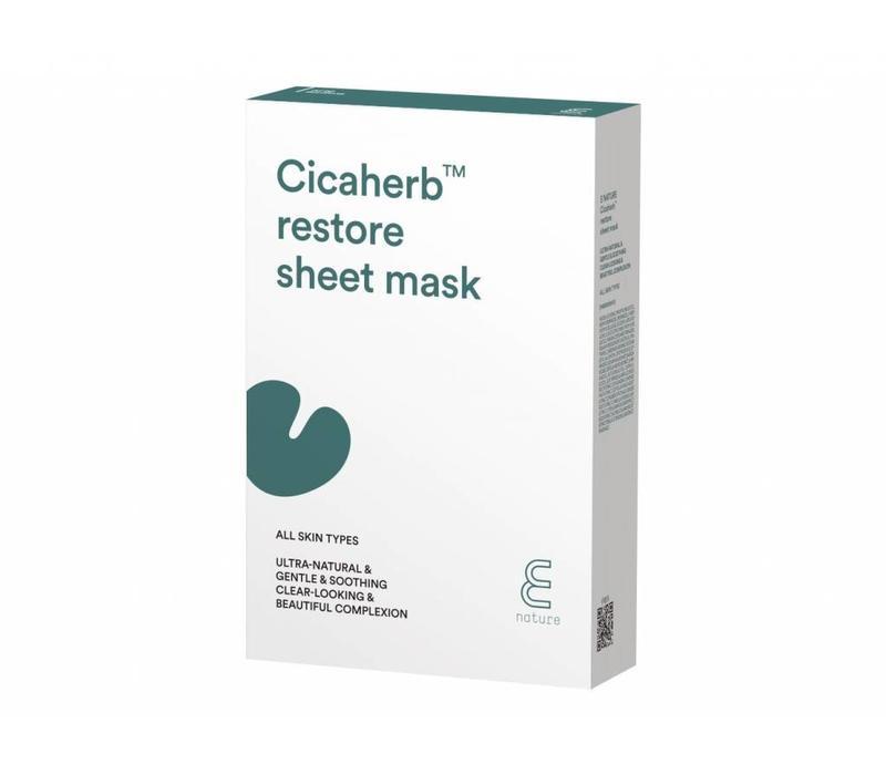 Cicaherb Restore Sheet Mask Pack (10ea)