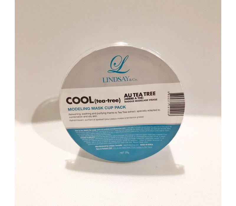 Cool (Tea Tree) Modeling Mask Cup Pack - 28g