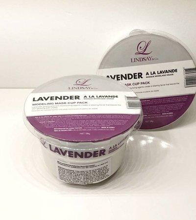 Lavender Modeling Mask Cup Pack - 28g