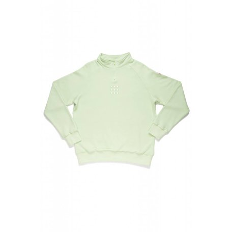 TESTUDO 2.0 FLEECE Sweater | Mint Green