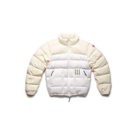 Cloud Nine Dots Jacket | White