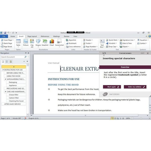 Office 2010 Course E Learning Complete Package Training Oem Office