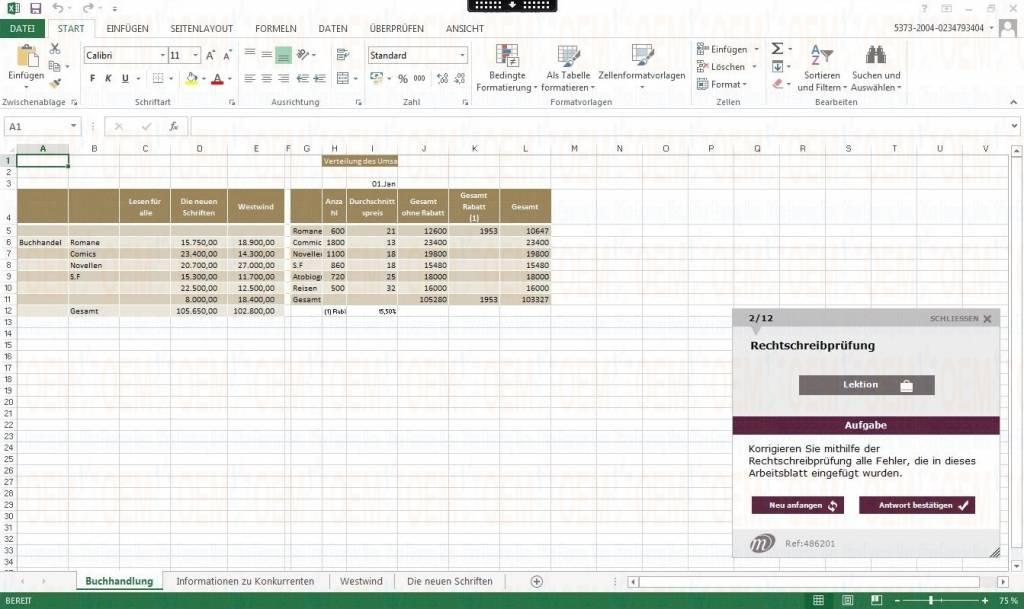 Elearning Excel 2013 Kurs Online Fortgeschrittene - OEM Office ...
