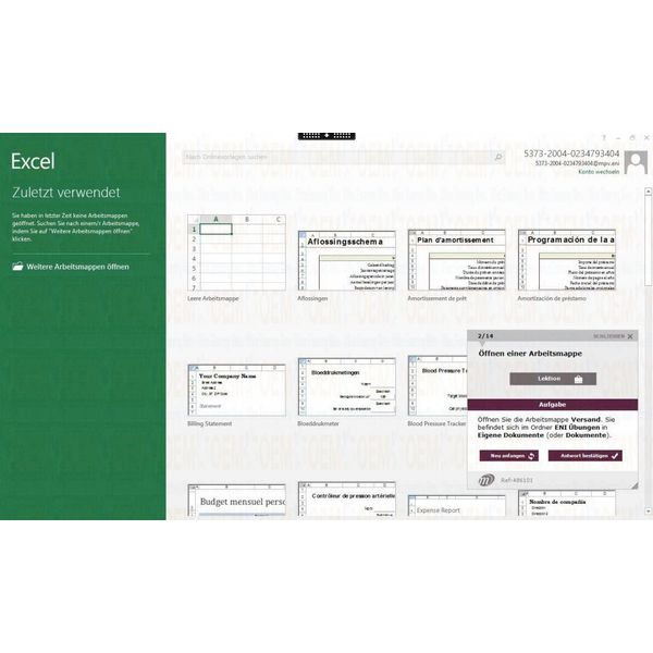 Elearning Excel 2010 Kurs Online Anfänger