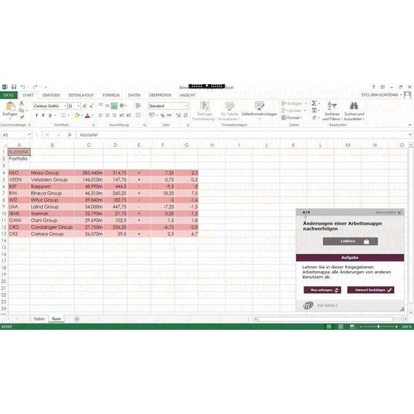 Elearning Excel 2010 Kurs Online Profi