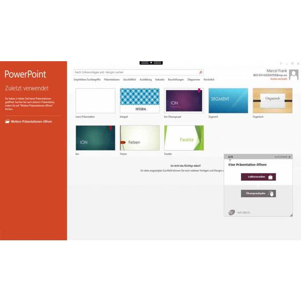 Elearning PowerPoint 2013 Kurs Online Anfänger