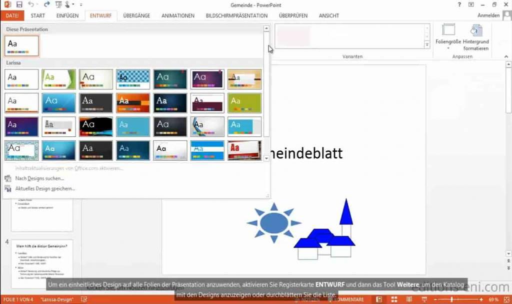 Elearning PowerPoint 2010 Kurs Online Anfänger - OEM Office ...