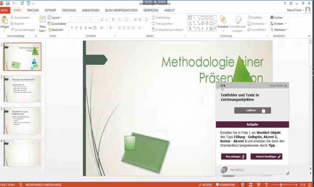 Elearning PowerPoint 2010 Kurs Online Fortgeschrittene und Profi ...