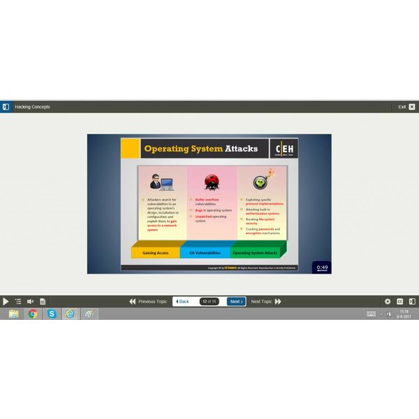 E-learning Kurs: CERTIFIED ETHICAL HACKER (CEH)v9