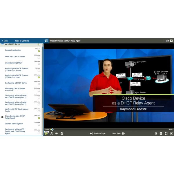 E-learning Kurs für Exam 300-101 ROUTE: CCNP Routing and Swiitching