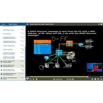 E-learning Kurs: CISCO 300-115: Implementing Cisco IP Switched Networks (SWITCH v. 2.0)