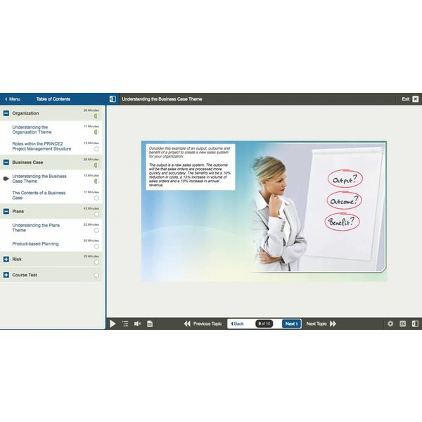 E-learning Kurs für Exam PRINCE2 Foundation