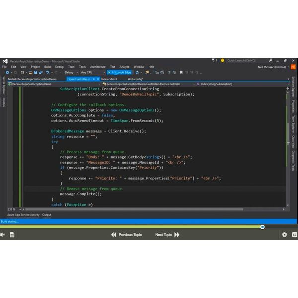 E-learning Kurs für Exam 70-480 Programming in HTML5 with JavaScript and CSS3