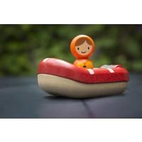 Plan Toys kustwachtboot