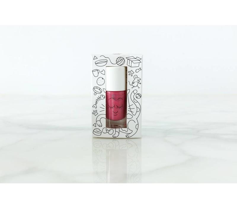 Nailmatic nagellak fuchsia met glitters 'Kitty' 8 ml