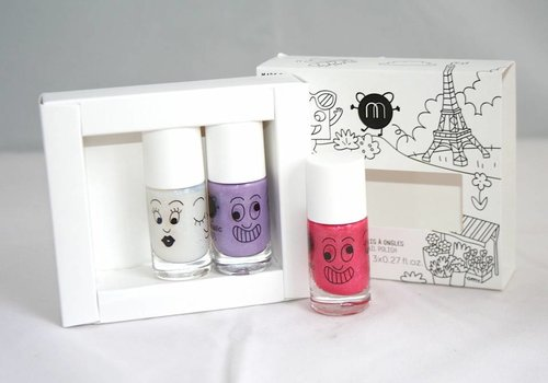 Nailmatic Nailmatic nagellak set City 3 kleuren