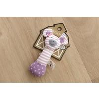 Organic Farm Buddies Ballerina Mouse rammelaarstick