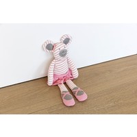 Organic Farm Buddies Ballerina Mouse knuffel