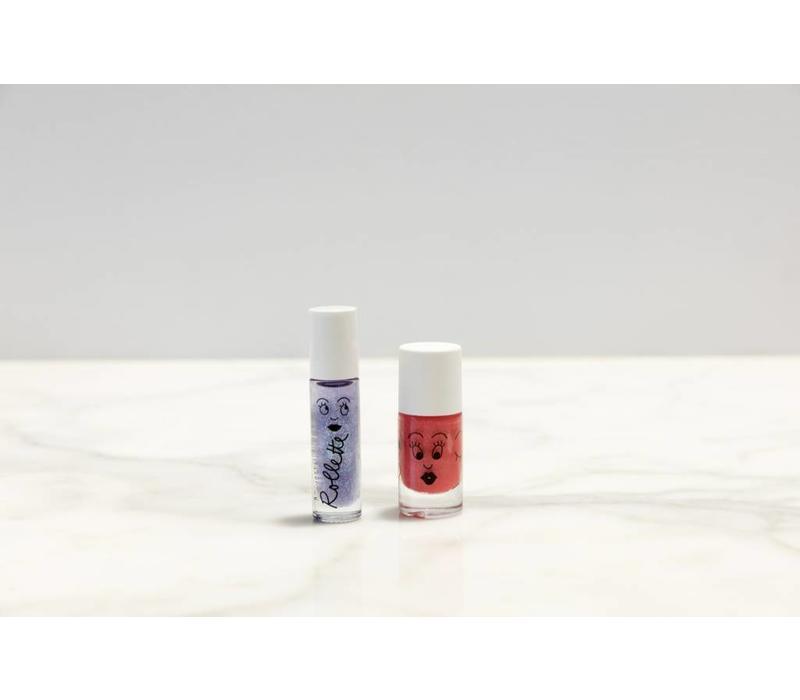 Blinkende nagels en glanzende lippen!