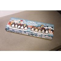 Puzzel 10 Pinguïns op een rij!