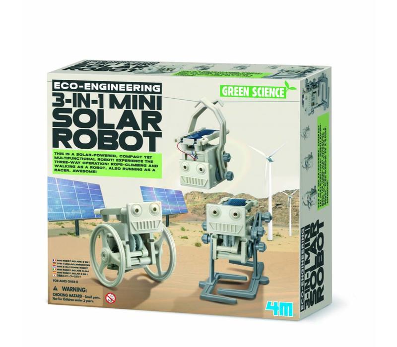 4M 3-in1 zonnerobots
