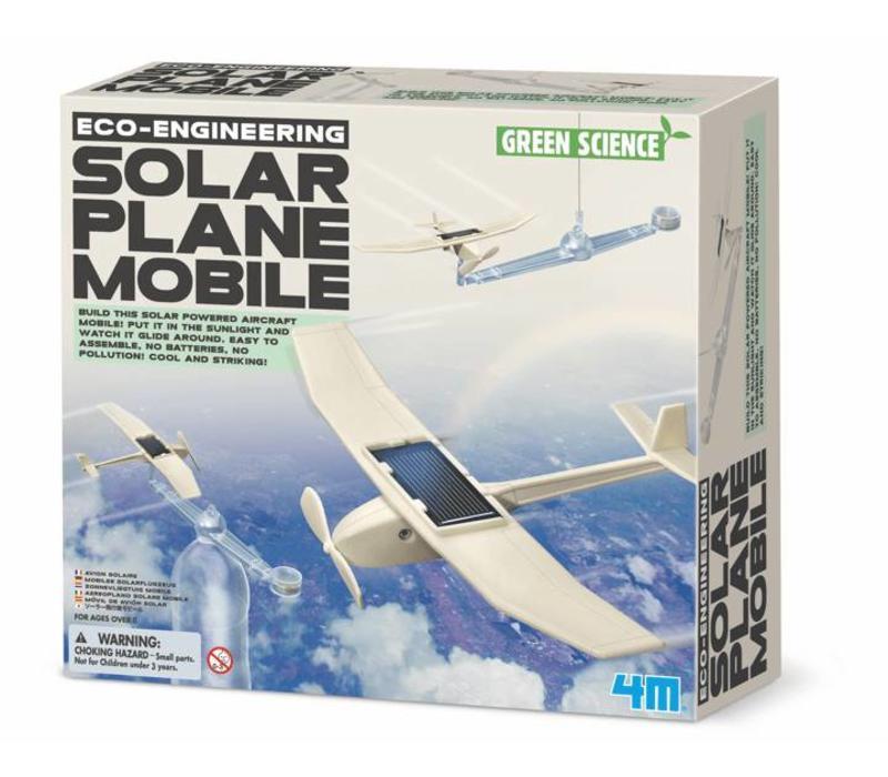 Vliegen met zonne-energie!