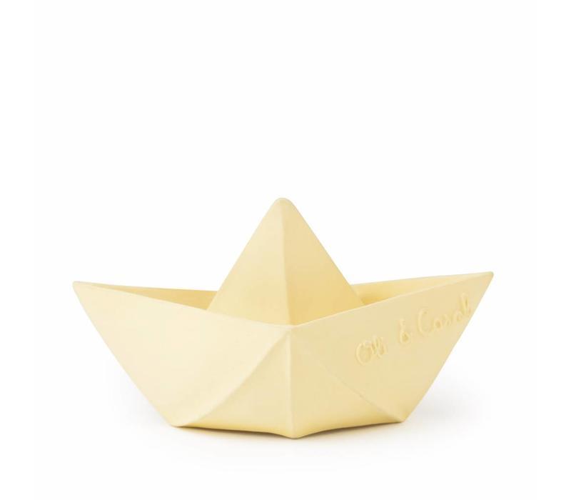 Oli & Carol origamibootje vanille