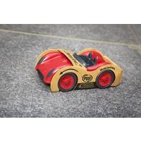 Green Toys racewagen rood
