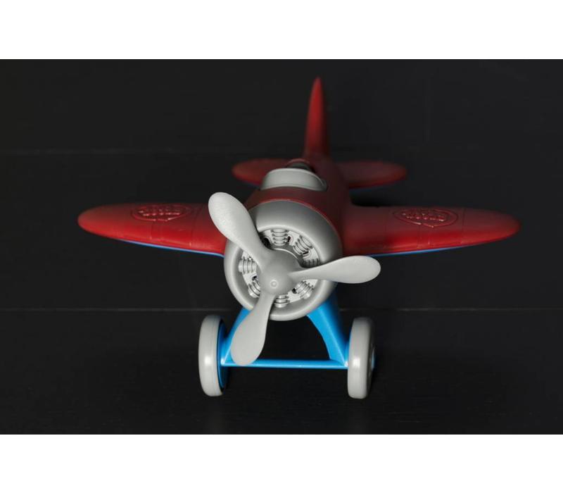Green Toys vliegtuig rood
