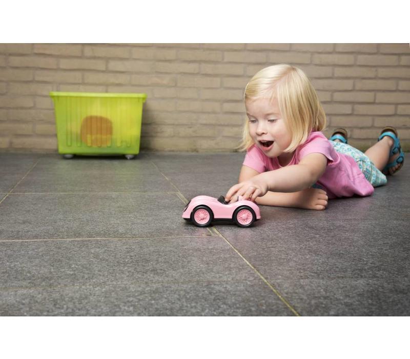 Green Toys racewagen roze