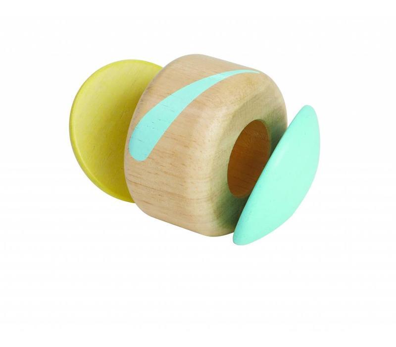 Klapperende roller pastel