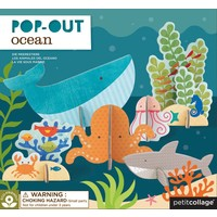 3D Pop Out figuren Oceaan