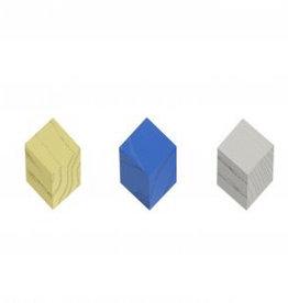 kleerhangers ISO HOOK SET OF 3 BLUE