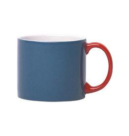 Keukengerei SERAX MY MUG XL BLUE HANDLE RED