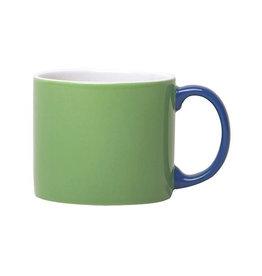 Keukengerei SERAX MY MUG XL GREEN HANDLE BLUE
