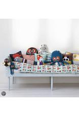 kussens Mr. Small Robot Cushion