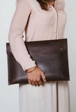 "accessoires O MY BAG LAPTOP SLEEVE 15"" ECO DARK BROWN"