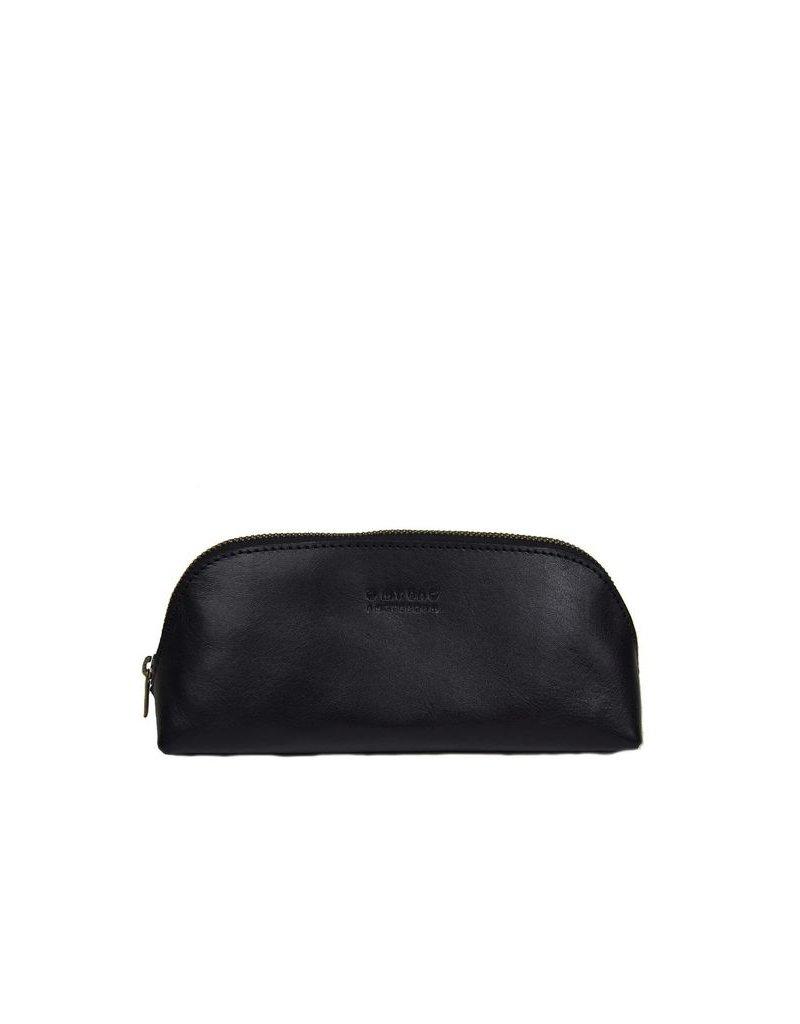 accessoires O MY BAG PENCIL CASE LARGE ECO CLASSIC BLACK