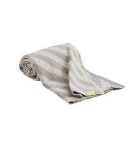 textiel MUMI PLAID WHITE/GREY/NEON