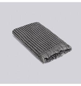 textiel HAY WAFFLE GUEST TOWEL DARK GREY