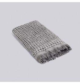 textiel HAY WAFFLE GUEST TOWEL LIGHT GREY