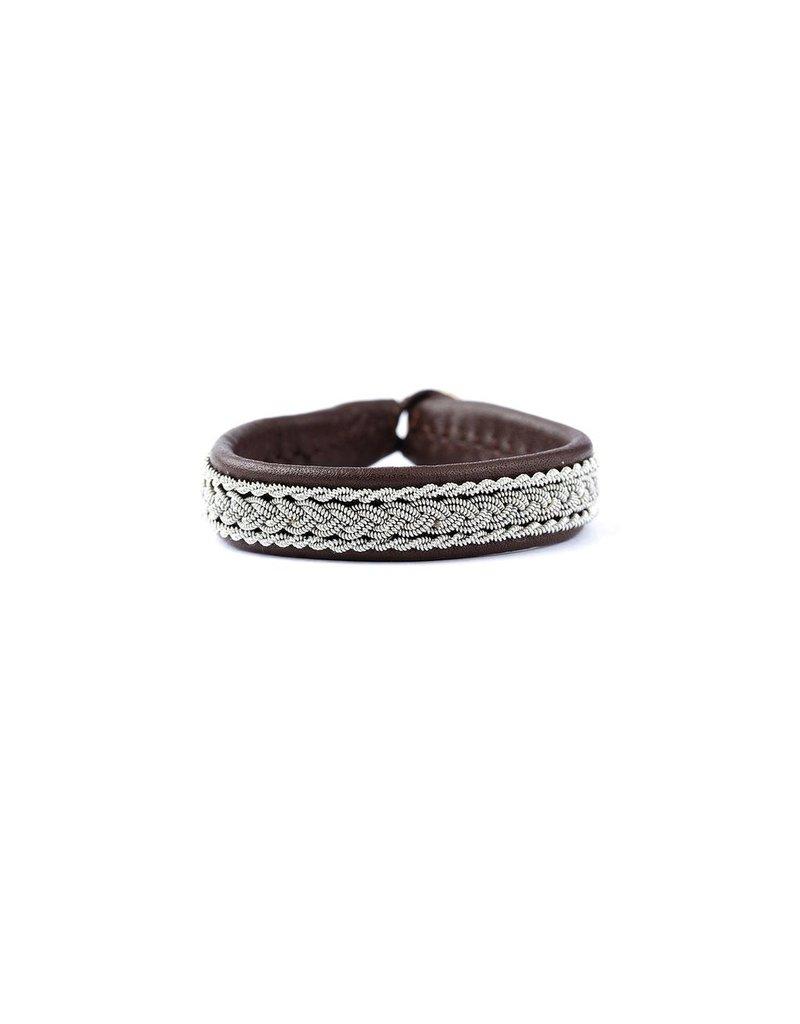 Juwelen CLASSIC 2 CHOCO LEATHER S21