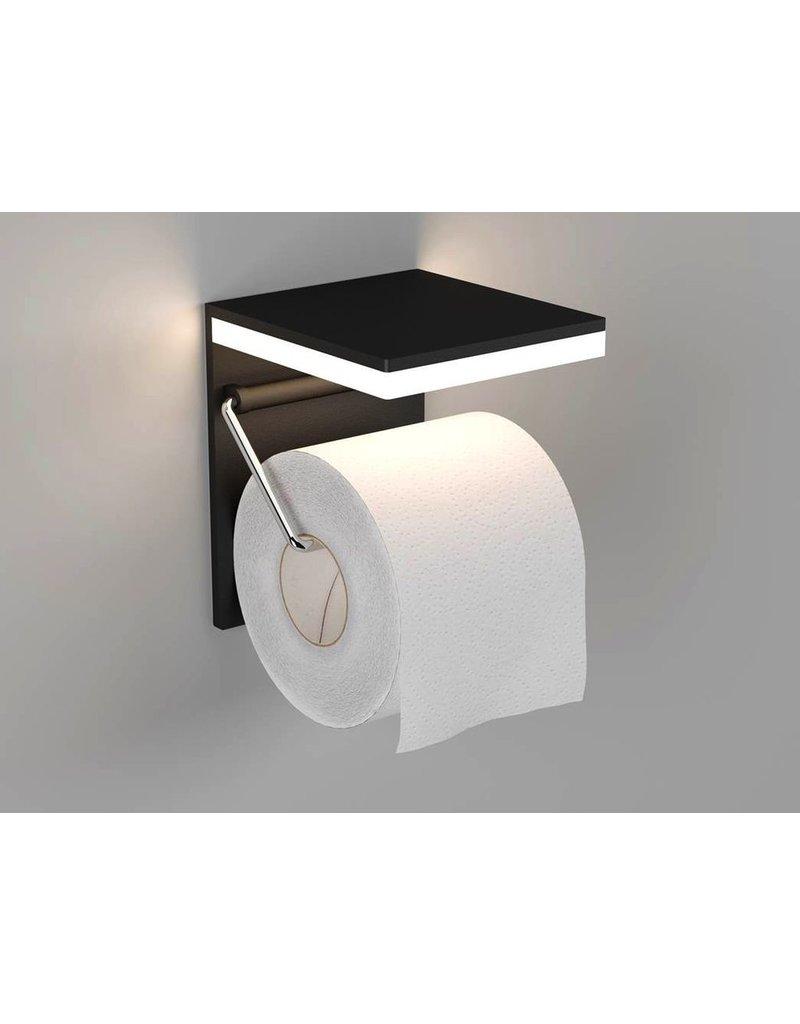 badkamer accessoires L-HOP 1 BLACK LED 3000K/3W
