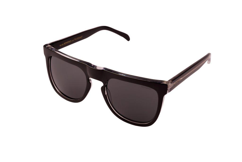 zonnebrillen BENNET BLACK / TRANSPARANT