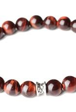 Juwelen Chic 8mm Bordeaux M
