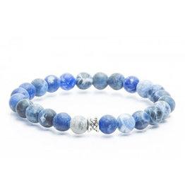 Juwelen BASIC 8MM MAT BLUE M