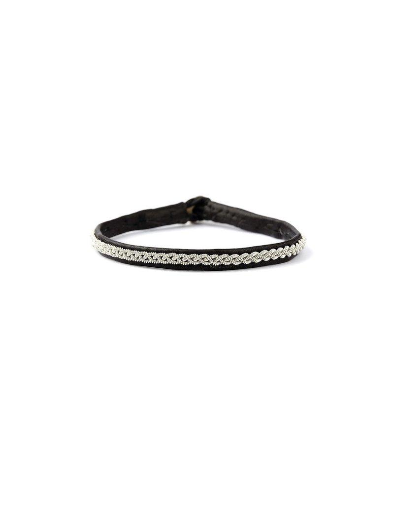 Juwelen ASTRID BLACK LEATHER S19