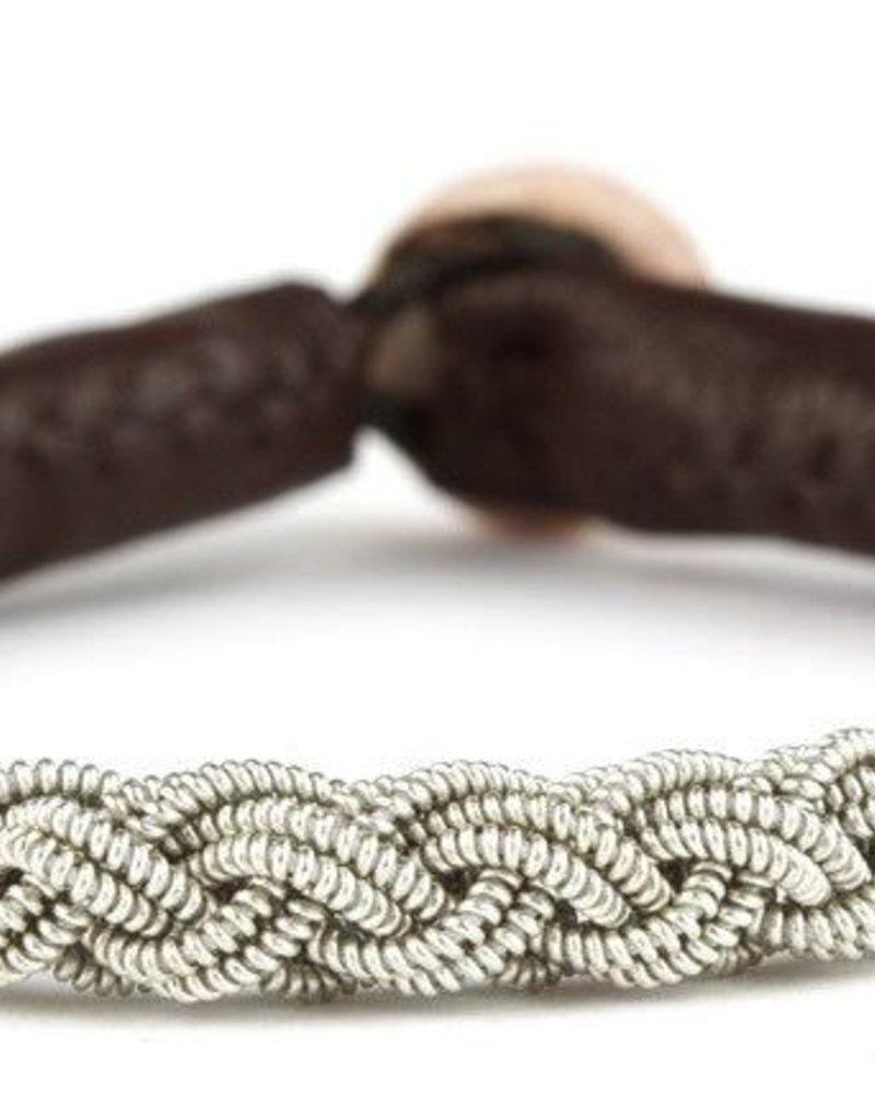 Juwelen BARCKA BROWN LEATHER S20