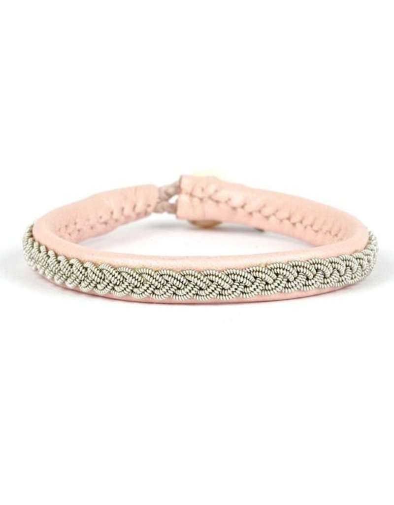 Juwelen CLASSIC NUDE LEATHER BRACELET S19